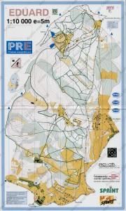 Mapa pro LOB Eduard z roku 1996