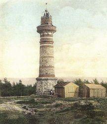 Rozhledna na Krkavci kolem roku 1900