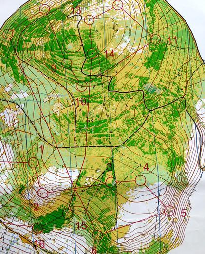 První polovina sobotního závodu - vrcholové partie Orlických hor
